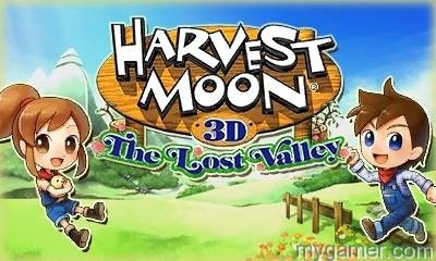 Harvest Moon: The Lost Valley Farms 3DS Harvest Moon: The Lost Valley Farms 3DS Harvest Moon Lost Valley Banner