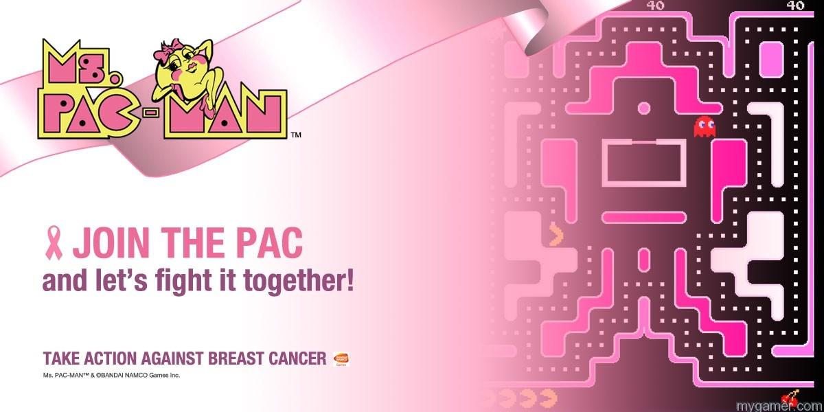 Ms. Pac-Man Fights Cancer Ms. Pac-Man Fights Cancer MsPACMAN Logo