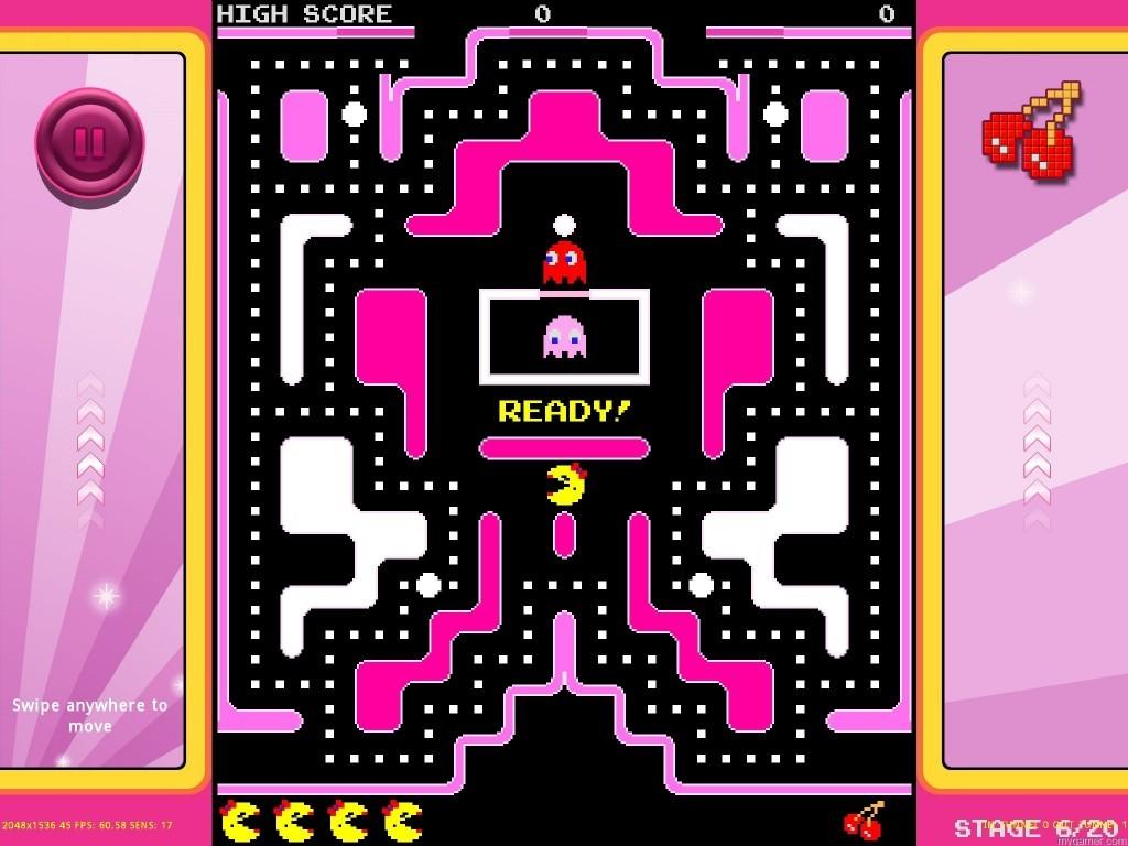Screenshot_Maze_Cure Ms. Pac-Man Fights Cancer Ms. Pac-Man Fights Cancer Screenshot Maze Cure 1024x768