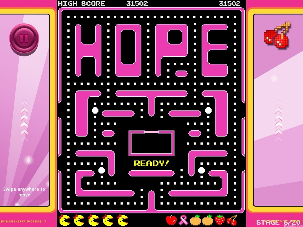 Screenshot_Maze_Hope Ms. Pac-Man Fights Cancer Ms. Pac-Man Fights Cancer Screenshot Maze Hope 1024x768