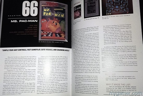 Page layout is clean and informative The 100 Greatest Console Video Games 1977-1987 Book Review The 100 Greatest Console Video Games 1977-1987 Book Review Top 100 Console 77 87 Ms Pac