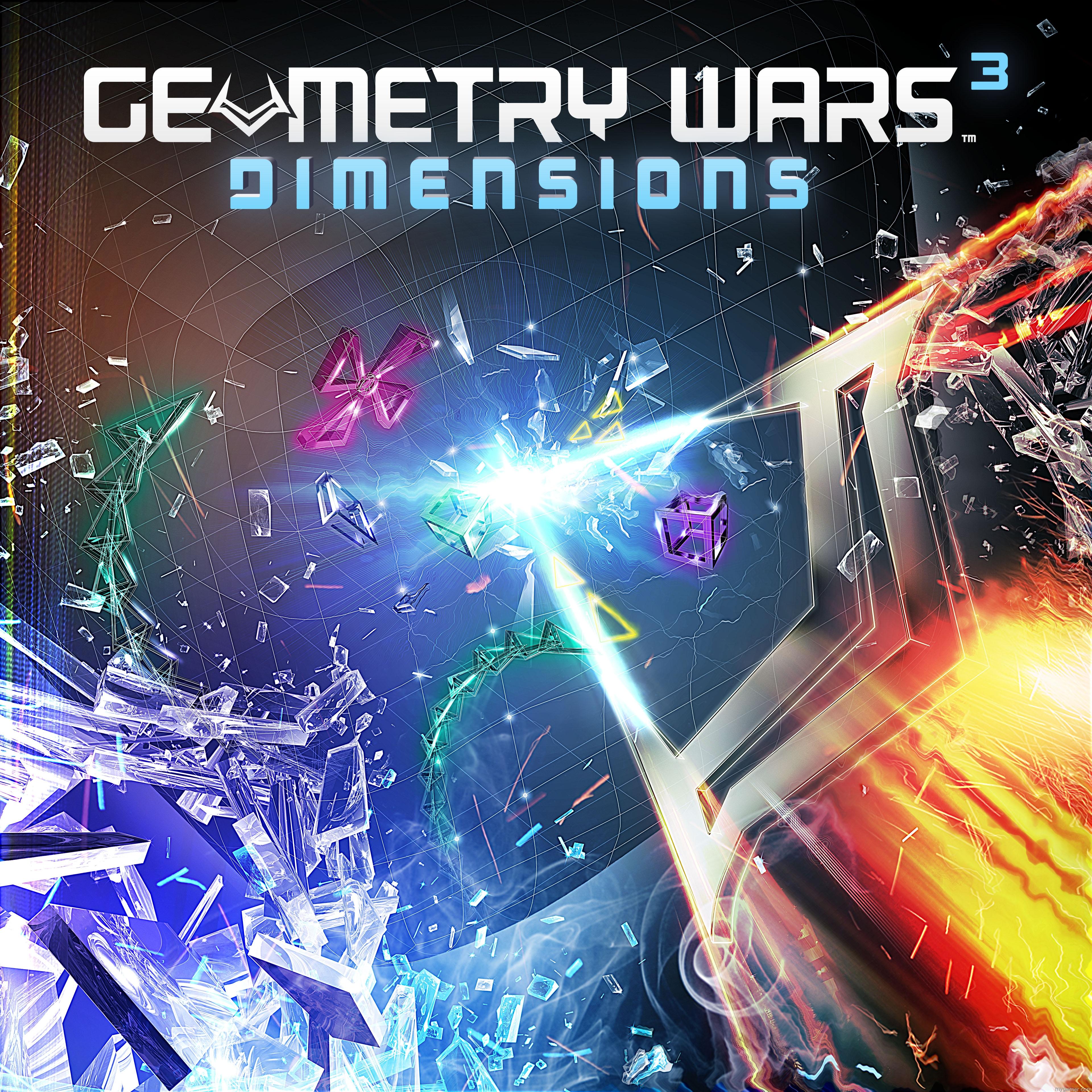 Geometry Wars 3: Dimensions Gets Pre-Order Bonus Levels Geometry Wars 3: Dimensions Gets Pre-Order Bonus Levels GW Dimensions Key Art