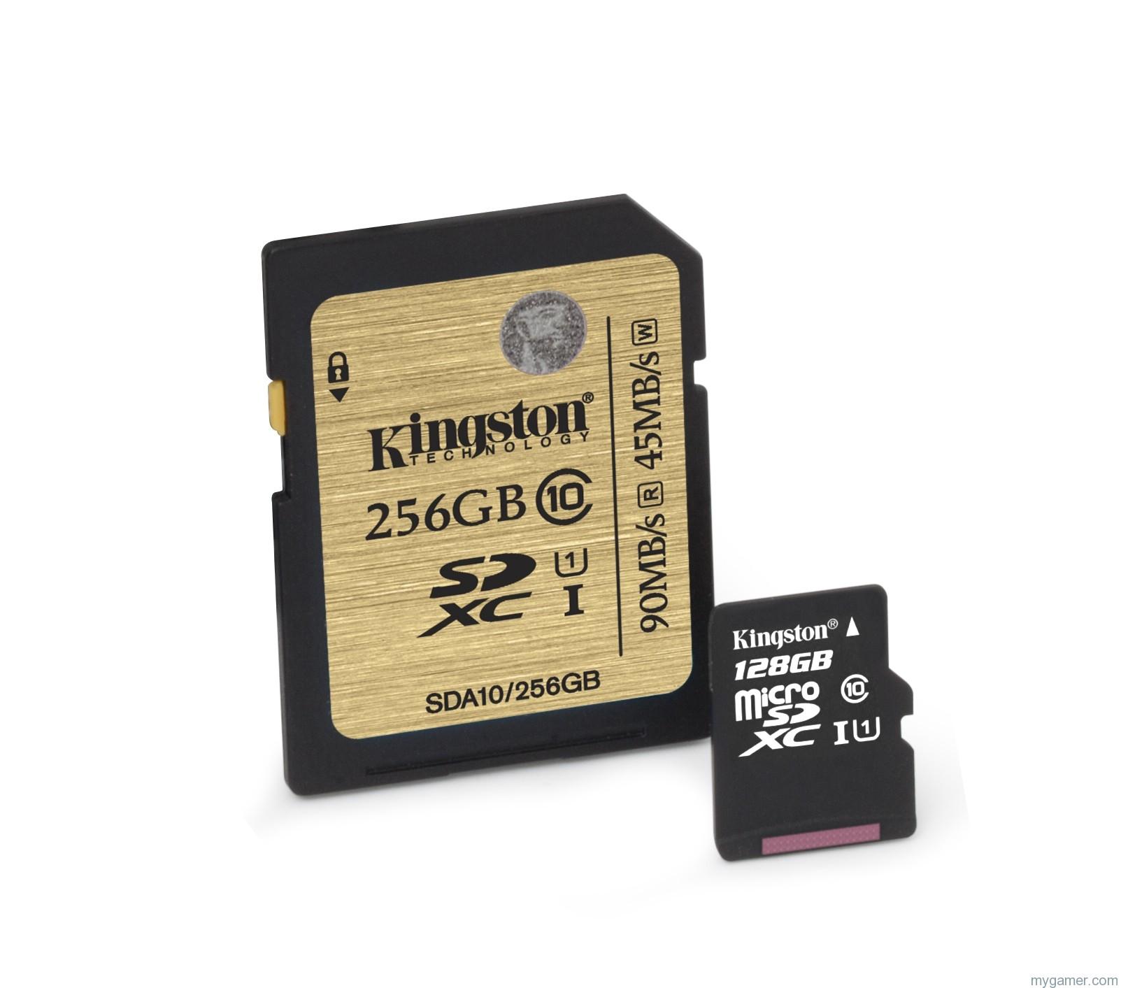 Kingston Creates 128/256GB Class 10 microSD Cards Kingston Creates 128/256GB Class 10 microSD Cards Kingston SDA10 SDCX