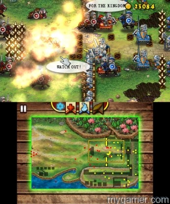 Eventually the game expands to new units and bigger environments Castle Conqueror Defender 3DS eShop Review Castle Conqueror Defender 3DS eShop Review castle conqueror defender nintendo 3ds gameplay screenshots 5