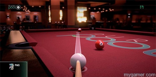 Lining up long shots is tough Pure Pool Xbox One Review Pure Pool Xbox One Review pure pool 4