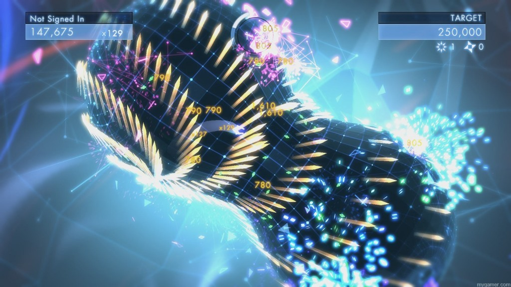 Geometry Wars is the bullethell of twin-stickers Geometry Wars 3: Dimensions Xbox One Review Geometry Wars 3: Dimensions Xbox One Review Geometry Wars 3 1 1024x576