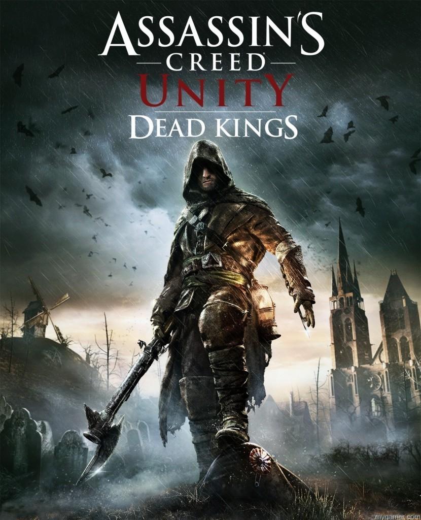 ACU_Dead_Kings_DLC_keyart Assassin's Creed Unity Dead Kings DLC Will be Free Next Week Assassin's Creed Unity Dead Kings DLC Will be Free Next Week ACU Dead Kings DLC keyart 830x1024