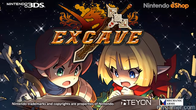 Excave 3DS eShop Review Excave 3DS eShop Review Excave Teyon 1