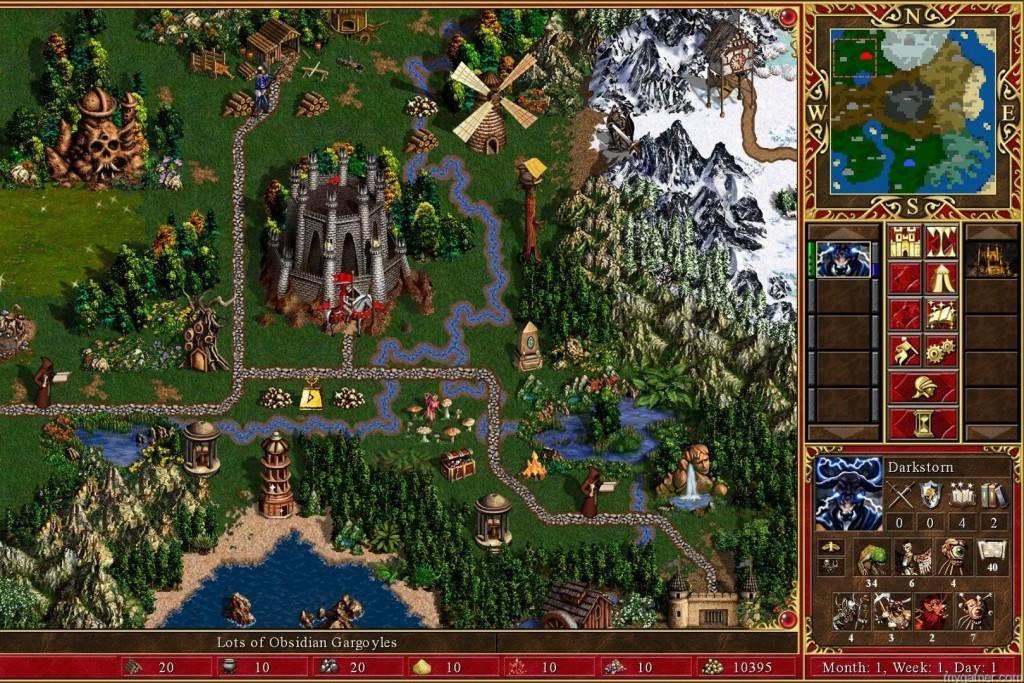 Overworld map Heroes of Might and Magic III HD PC Review with Live Stream Heroes of Might and Magic III HD PC Review with Live Stream Heroes MM III map 1024x683