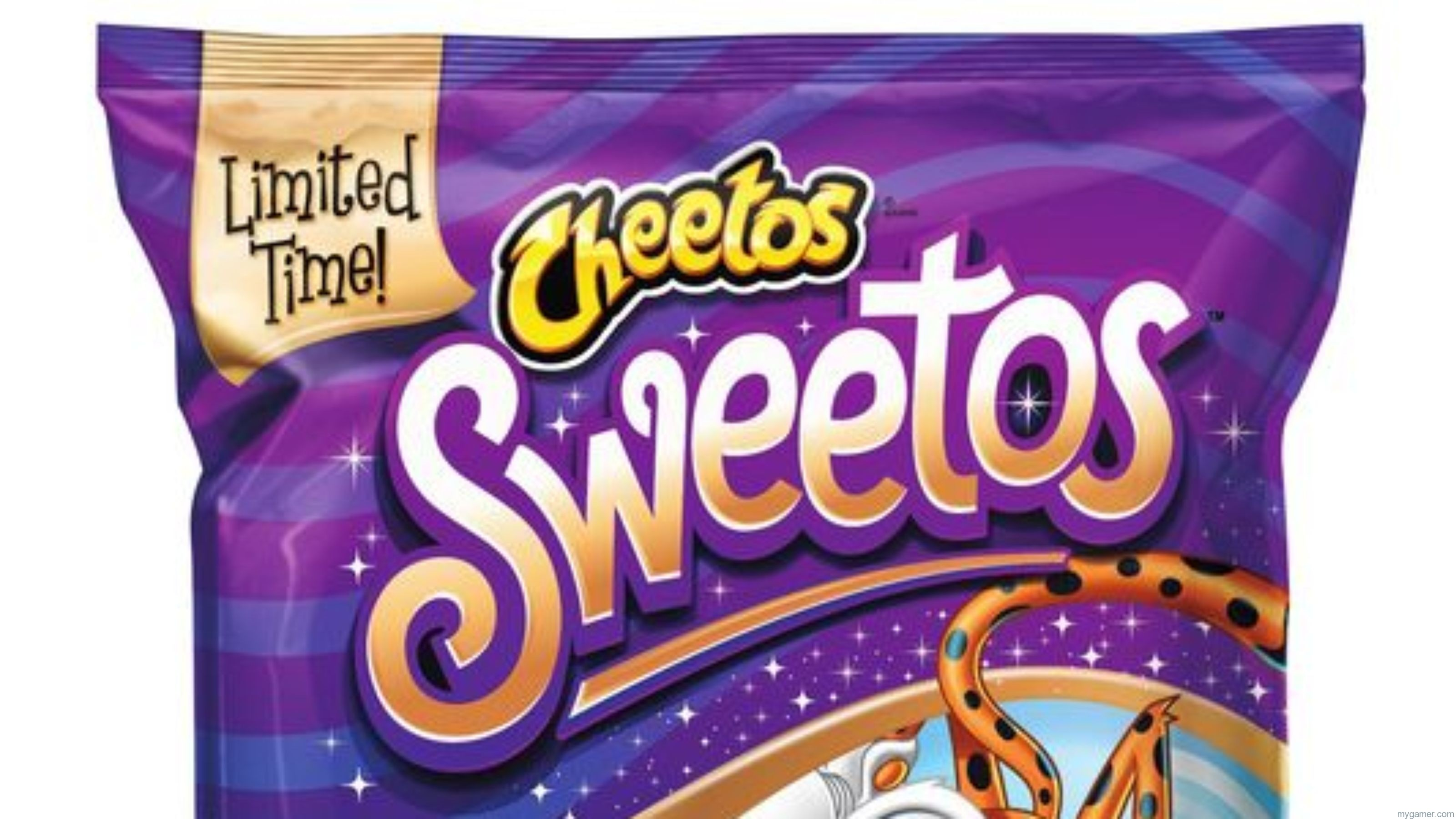 Gamer's Gullet - Cheetos SWEETOS Review Gamer's Gullet – Cheetos SWEETOS Review Sweetos Banner