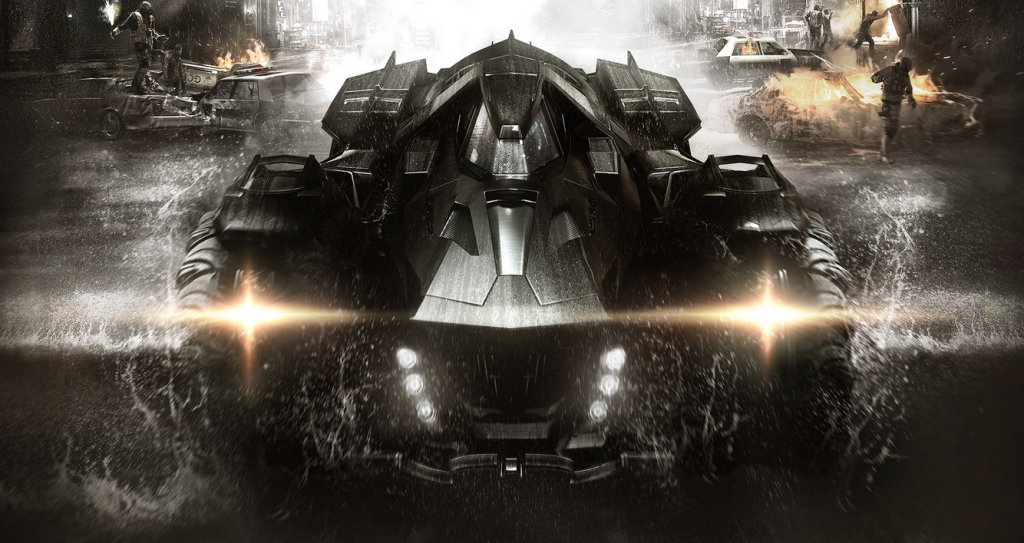 The Batmobile is an important part of gameplay Batman: Arkham Knight Preview Batman: Arkham Knight Preview Batman Arkham Knight batmobile 1024x543