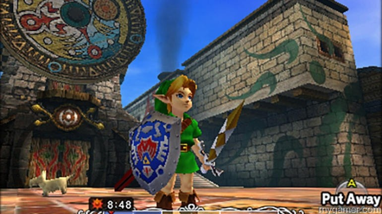 Link fights with more than just the Master Sword