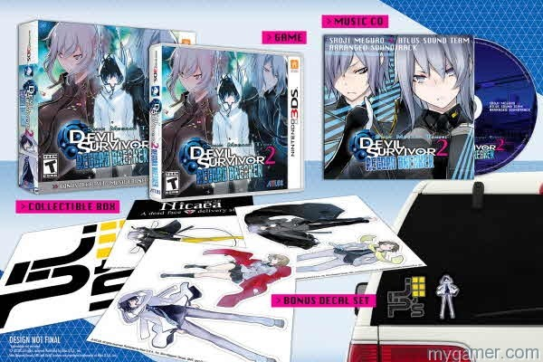 Shin Megami Tensei: Devil Survivor 2 Record Breaker Launch Edition Looks Pretty Sweet Shin Megami Tensei: Devil Survivor 2 Record Breaker Launch Edition Looks Pretty Sweet Shin Megami Devil Surv 2 Launch Edtion