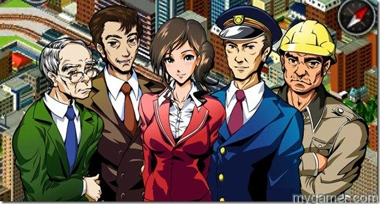 The colorful anime doesn't fit the serious tone of the gameplay A-Train 3D: City Simulator 3DS Review A-Train 3D: City Simulator 3DS Review A Train anime