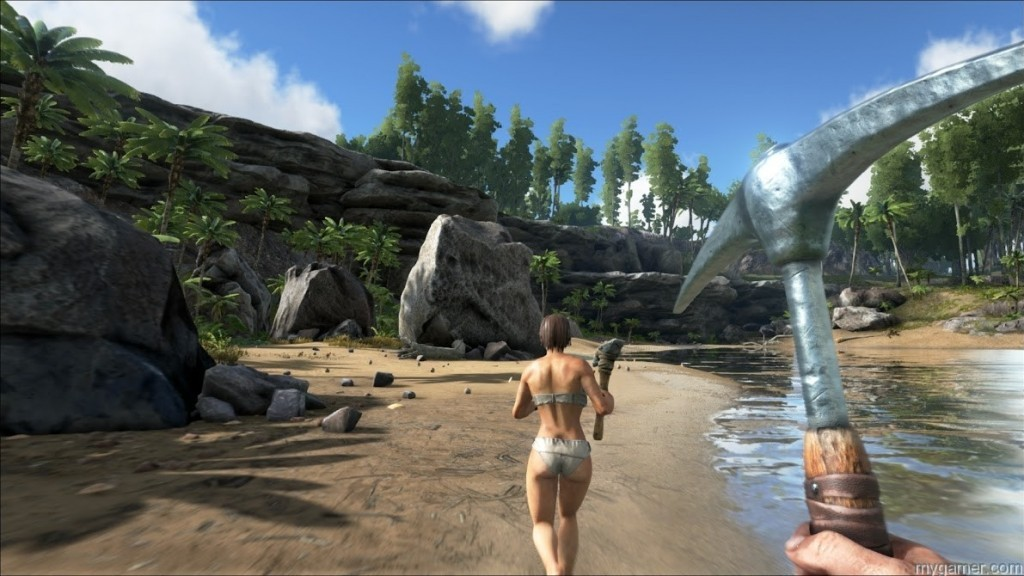 ARK humans ARK: Survival Evolved Looks Like the Turok Game We've Always Wanted ARK: Survival Evolved Looks Like the Turok Game We've Always Wanted ARK humans 1024x576