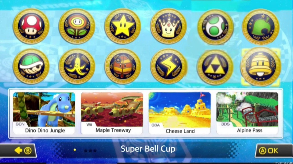 4 tracks in each Cup Mario Kart 8 DLC Pack 2 Review (Wii U) Mario Kart 8 DLC Pack 2 Review (Wii U) Mario Kart 8 Cups DLC 1024x576