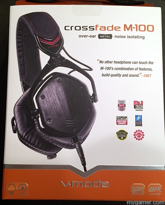 V-Moda M-100 Headset Review V-Moda M-100 Headset Review V Mode M100 Box