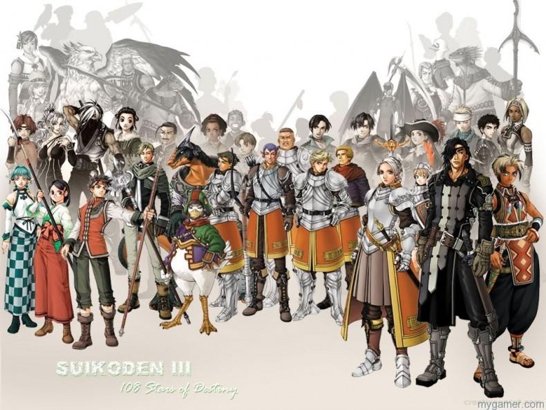 Konami Releases Suikoden III on PSN Konami Releases Suikoden III on PSN Suikoden III 790x593