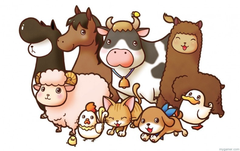 Harvest Moon Coming to PC, Wii U, and Mobile Harvest Moon Coming to PC, Wii U, and Mobile harvest moon animals 790x496