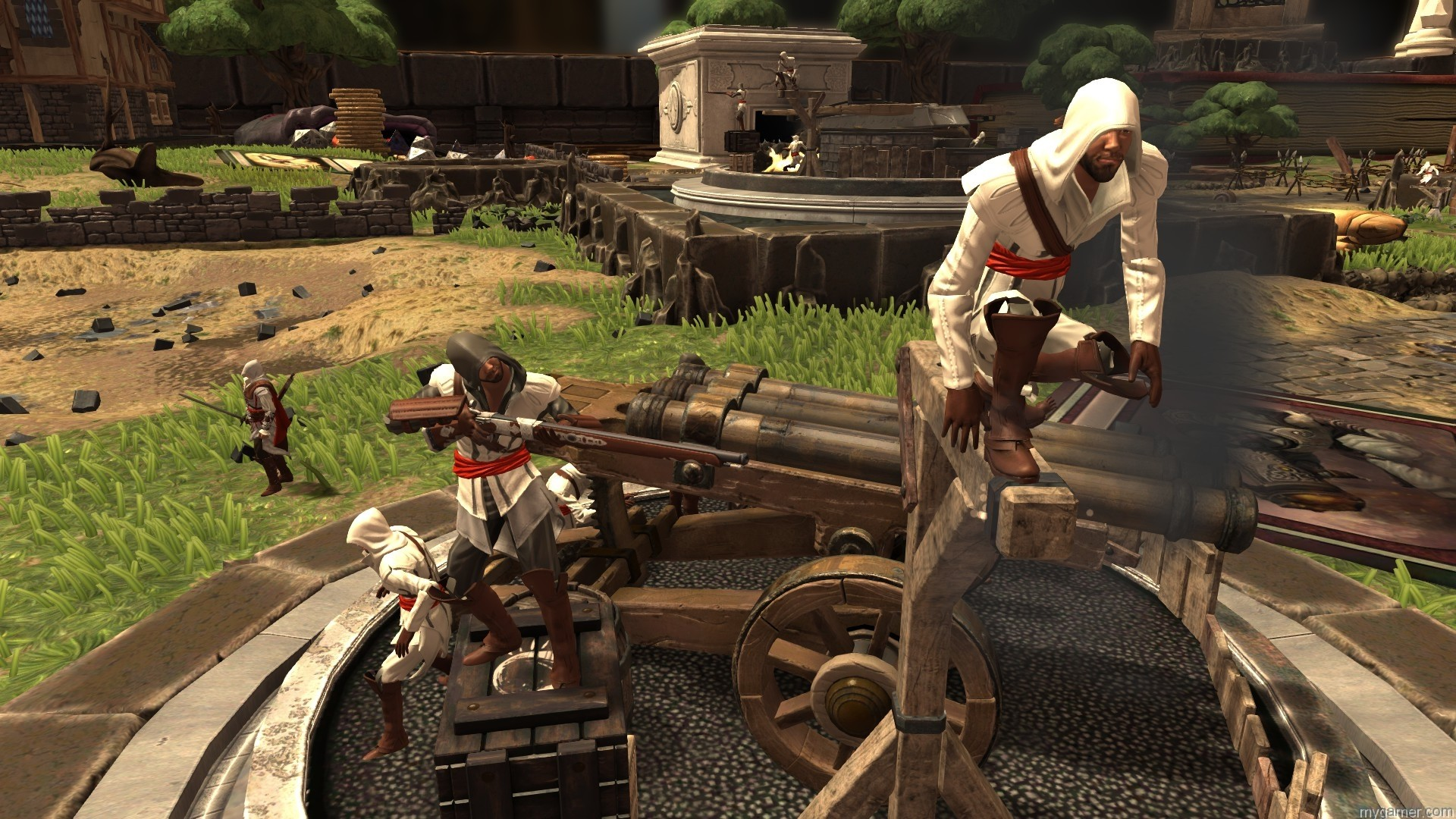 Ezio in Toy Soldiers War Chest Toy Soldiers: War Chest Preview Toy Soldiers: War Chest Preview Ezio Toy Soldiers