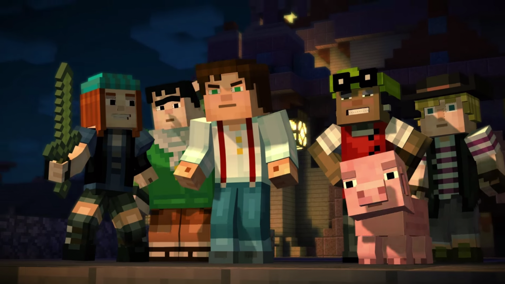 Jesse's Minecraft Quest to Find The Order... Minecraft: Story Mode Preview Minecraft: Story Mode Preview JessesQuest 1024x575