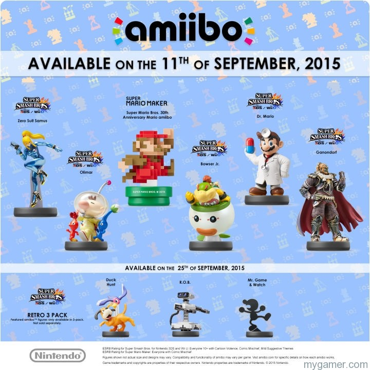 Amiibo Sept banner Try And Get Your Hands on the Next Amiibo Wave in Sept in the US Try And Get Your Hands on the Next Amiibo Wave in Sept in the US Amiibo Sept banner