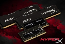 Kingston Releases New Low Powered DRAM Kingston Releases New Low Powered DRAM FURYDDR3L ImpactDDR4 263x180