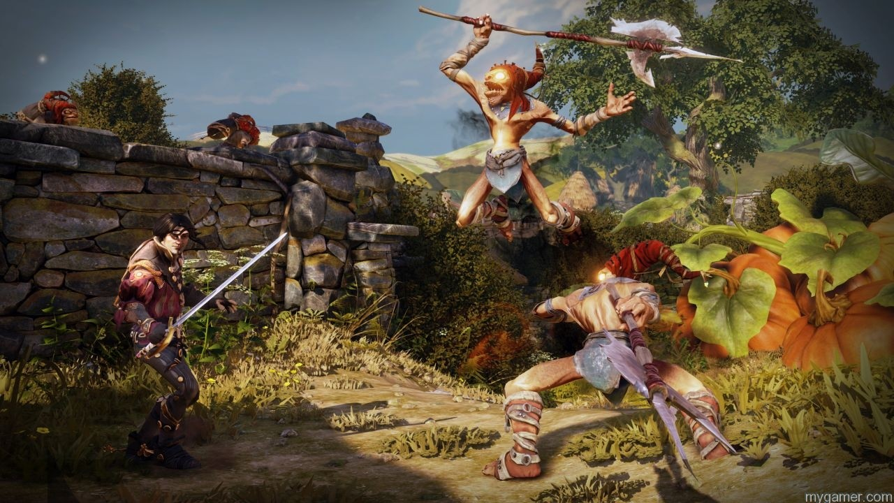 Hereos fighting together in Fable Legends Fable Legends Preview Fable Legends Preview Fable Legends Screenshot