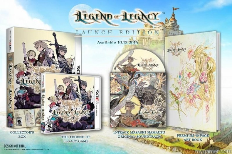 The Legend of Legacy Gets Massive Limited Edition The Legend of Legacy Gets Massive Limited Edition Legend of Leg LE 790x526