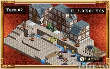 Some stages are larger than others Mercenaries Saga 2: Order of the Silver Eagle 3DS eShop Review Mercenaries Saga 2: Order of the Silver Eagle 3DS eShop Review Mercenaries Saga 2 town