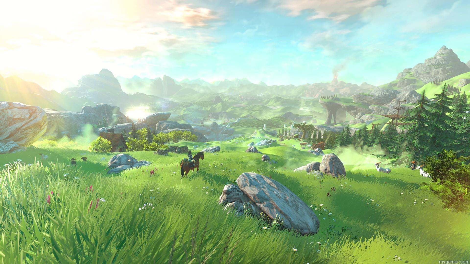 Largest open world in Zelda series The Legend of Zelda on Wii U Preview The Legend of Zelda on Wii U Preview Open World in Zelda Wii U