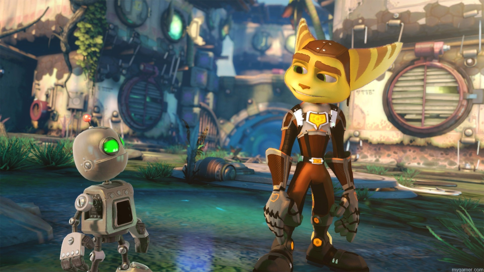 Graphics in Ratchet & Clank for PS4 Ratchet & Clank (PS4) Preview Ratchet & Clank (PS4) Preview Ratchet Clank Preview