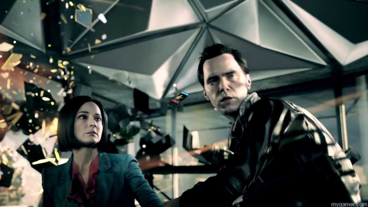 Scene in Quantum Break Quantum Break Preview Quantum Break Preview Scene in Quantum Break