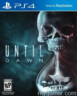 Official Cover for Until Dawn - a PS4 exclusive Until Dawn Preview Until Dawn Preview Until Dawn Cover