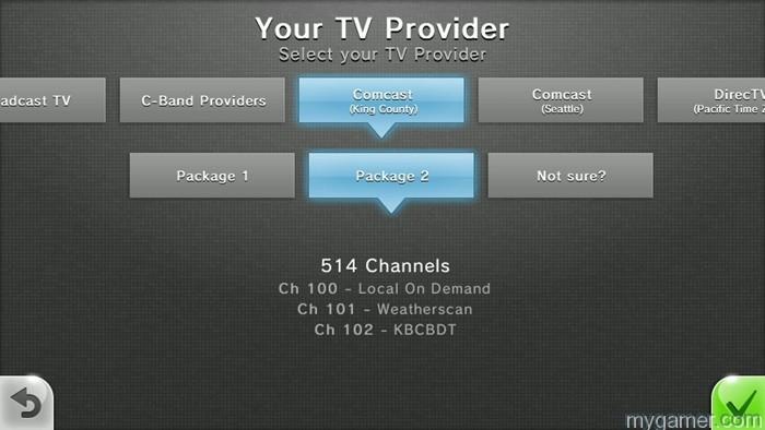 Wii u TVii screen
