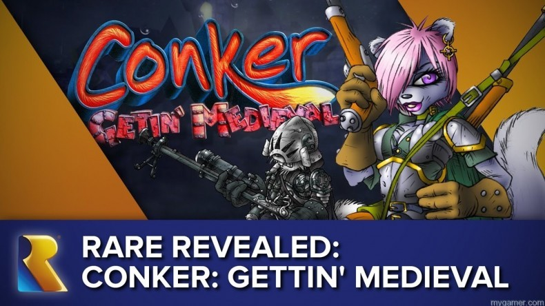 Did You Know There Was Supposed to be an Original Conker Game After Live And Reloaded? Did You Know There Was Supposed to be an Original Conker Game After Live And Reloaded? COnker Getin Medieval 790x444