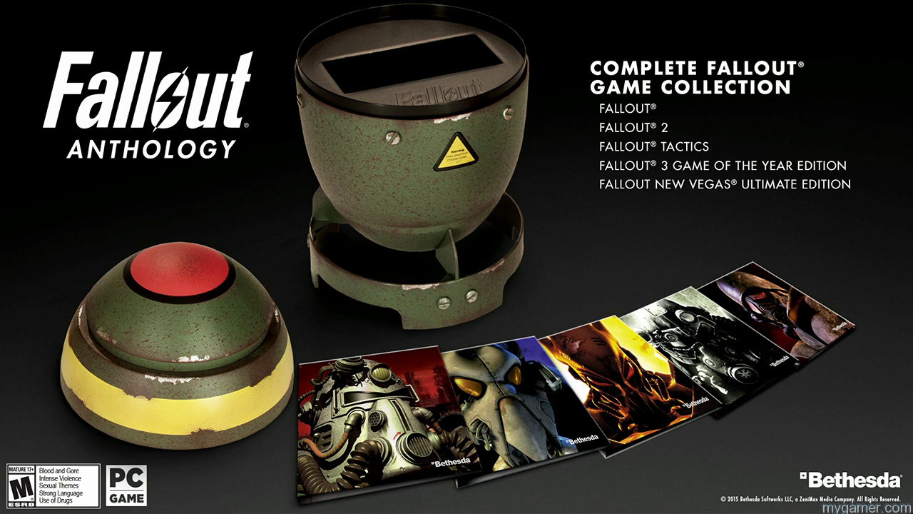 Fallout Anthology All Own Your Own Mini Replica Nuke With Fallout Anthology Own Your Own Mini Replica Nuke With Fallout Anthology Fallout Anthology All