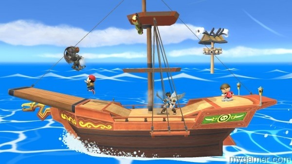 New Smash Bros Update Adds New Stages and Costumes New Smash Bros Update Adds New Stages and Costumes Smash Bros Pirate Ship DLC Out 600x338