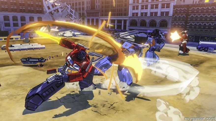 Transformers Devastation fight TRANSFORMERS: Devastation (Xbox One) Review TRANSFORMERS: Devastation (Xbox One) Review Transformers Devastation fight
