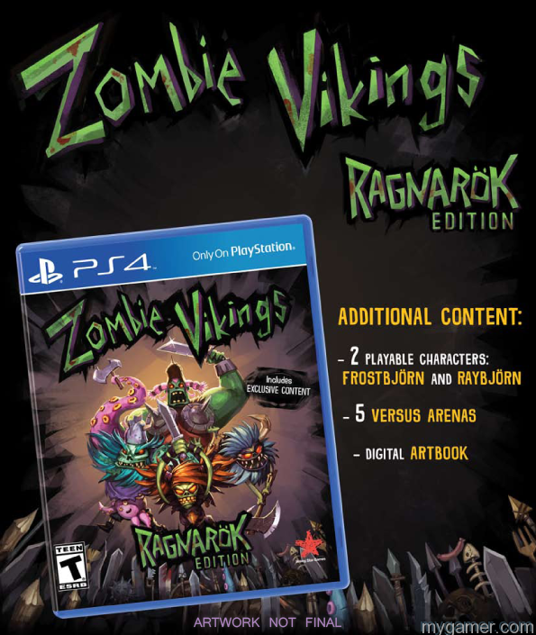 Zombie Vikings Art Physical Version of Zombie Vikings Will Have Extra Content Physical Version of Zombie Vikings Will Have Extra Content Zombie Vikings Art