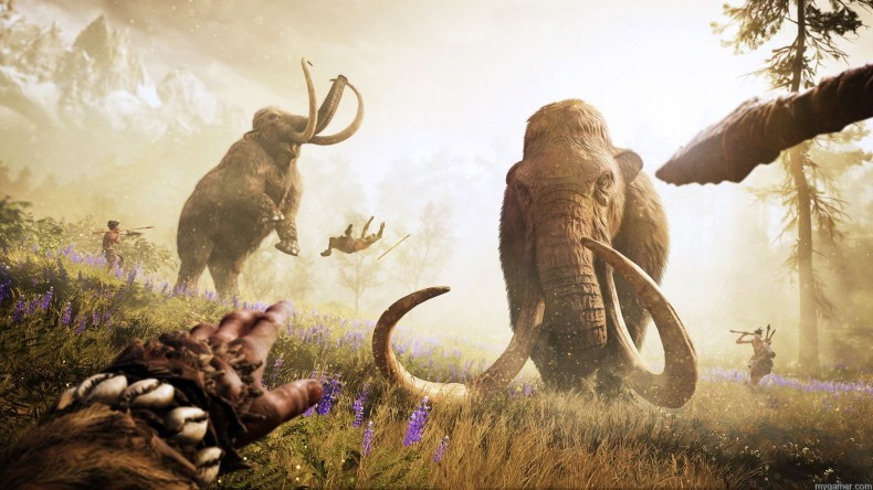 Far Cry Primal ubisoft takes far cry to the stone age in far cry primal with reveal trailer Ubisoft takes Far Cry to the Stone Age in Far Cry Primal with Reveal Trailer FCP ANNOUNCE SCREEN 003 EMBARGO OCT 6 9AM PST 1444078387 790x444