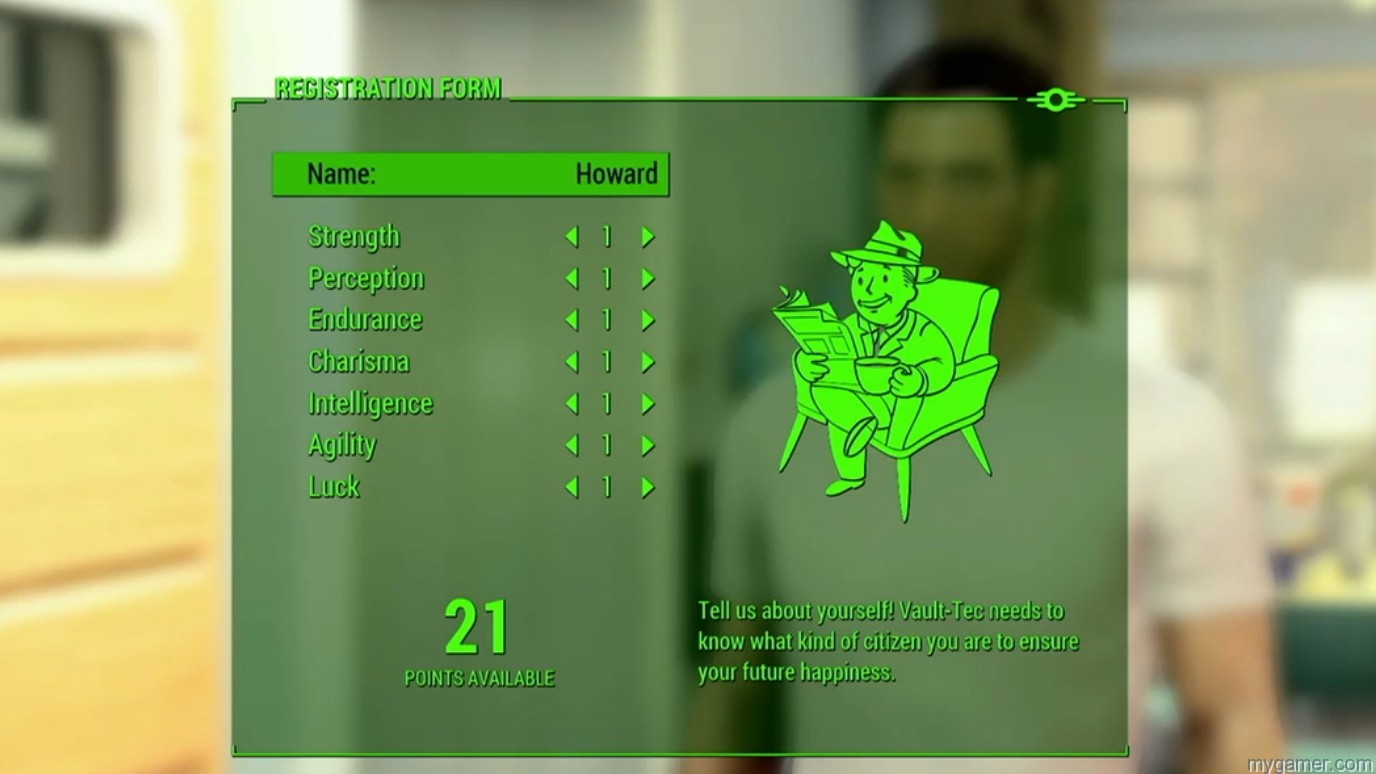 Fallout 4 stat screen Learn About Agility from Fallout 4's SPECIAL System Learn About Agility from Fallout 4's SPECIAL System Fallout 4 stat screen