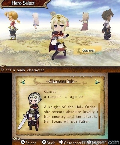 Legend of Legacy Character Select The Legend of Legacy 3DS Review The Legend of Legacy 3DS Review Legend of Legacy Character Select