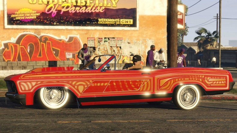 Grand Theft Auto Online: Lowriders Grand Theft Auto Online: Lowriders Now Available Grand Theft Auto Online: Lowriders Now Available Lowrider outnow 3 790x444