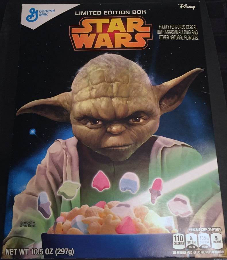 Gamer's Gullet: Star Wars Cereal Review Gamer's Gullet: Star Wars Cereal Review Star Wars Cereal Box Front 790x907