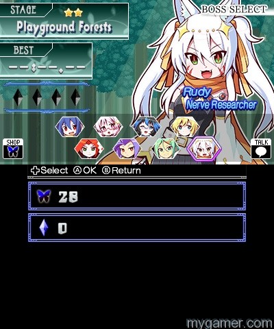Like Mega Man, there are 8 bosses to tackle Legend of Dark Witch 2: Price of Desire 3DS eShop Review Legend of Dark Witch 2: Price of Desire 3DS eShop Review Dark Witch 2 screen1