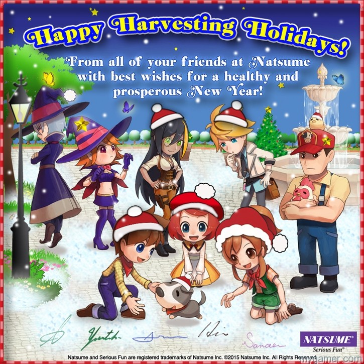 Natsume Greeting Card 2015 Our Friends at Natsume Sent Us This 2015 Holiday Card Our Friends at Natsume Sent Us This 2015 Holiday Card Natsume Greeting Card 2015