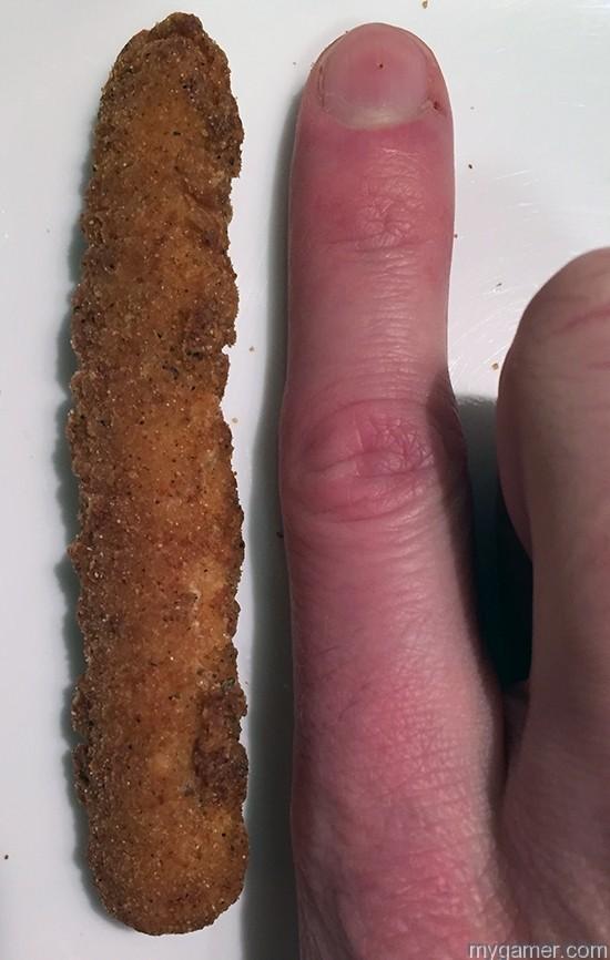 BK Chicken Fry vs Finger Gamer's Gullet – Burger King Chicken Fries Gamer's Gullet – Burger King Chicken Fries Review BK Chicken Fries finger