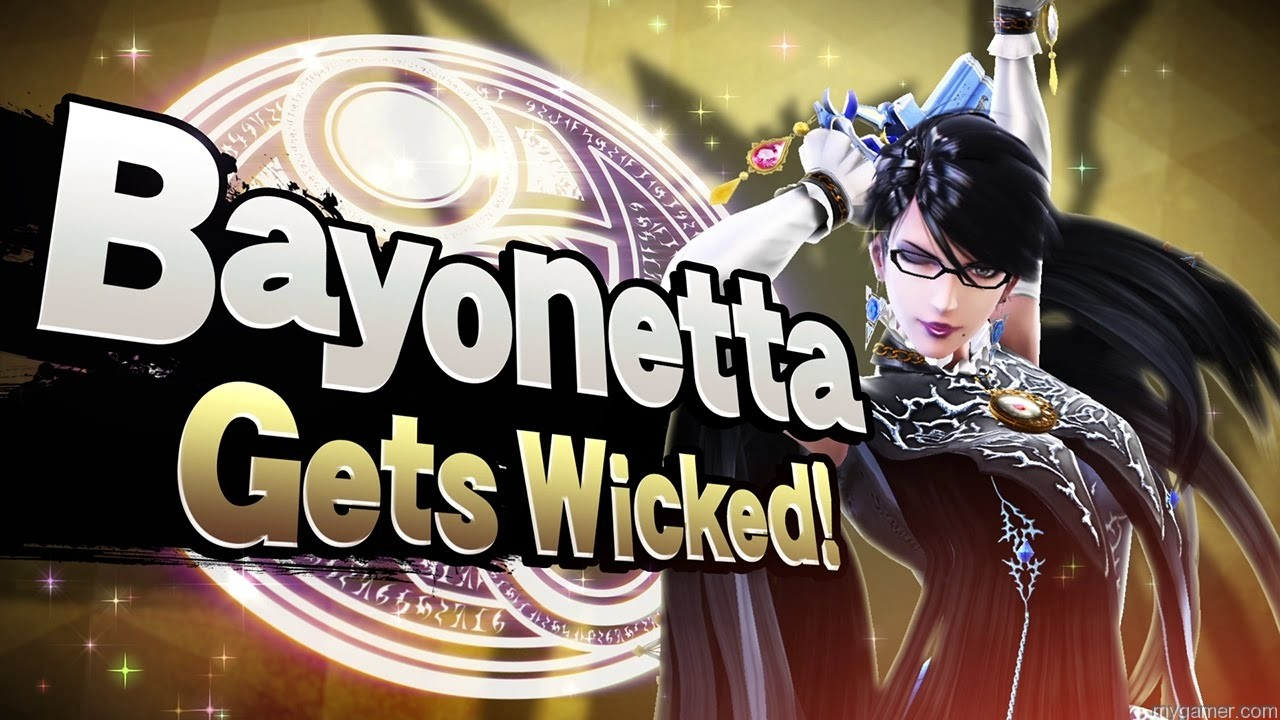 Bayonetta Smash Bros banner bayonetta and corrin dlc coming to smash bros wii u and 3ds feb 3, 2016 Bayonetta and Corrin DLC Coming to Smash Bros Wii U and 3DS Feb 3, 2016 Bayonetta Smash Bros banner