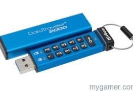 New Kingston DataTraveler 2000 Uses Onboard Alphanumeric Keypad New Kingston DataTraveler 2000 Uses Onboard Alphanumeric Keypad Kingston DT2000 263x180